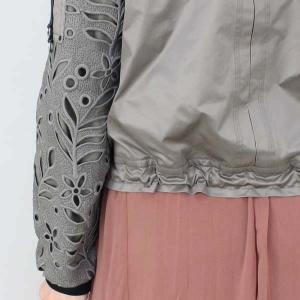 MARCCAIN マークケイン 透かし柄デザインジャンパー|femme|19