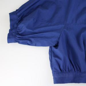 アコーレ ブルー半袖スキッパーショート丈ブラウス|femme|17