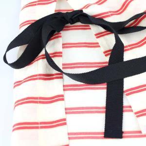 センソユニコ 赤ボーダーサイドリボン半袖ブラウス|femme|20
