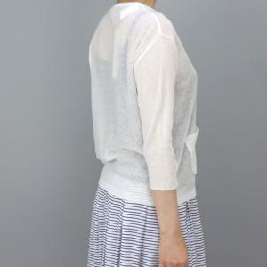 コーザノストラ 綿麻セーター|femme|04