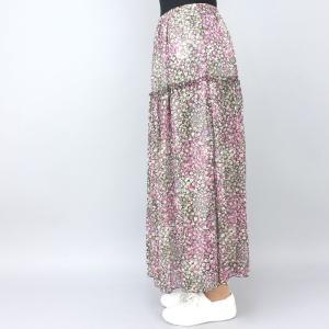 ピンク花柄スカート|femme|05
