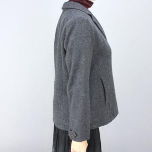 レアック グレーピーコート femme 03