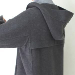 ヒロココシノ HIROKO KOSHINO グレーフード付きロングコート|femme|16