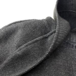 ヒロココシノ HIROKO KOSHINO グレーフード付きロングコート|femme|21