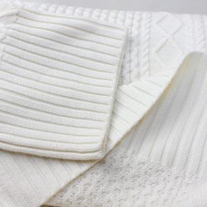 Apaiser lame(アぺゼラム)アラン編み柄ベルスリーブタートルセーター|femme|16