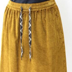 コテラック マスタードコーデュロイスカート|femme|12