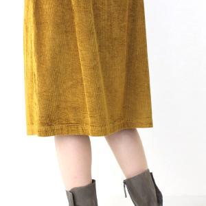 コテラック マスタードコーデュロイスカート|femme|13