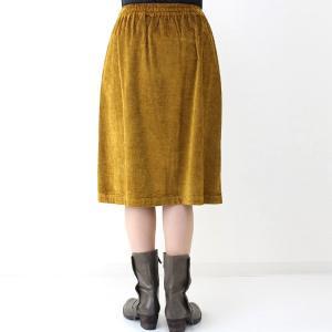コテラック マスタードコーデュロイスカート|femme|04