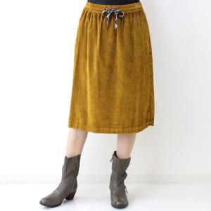 コテラック マスタードコーデュロイスカート|femme|05