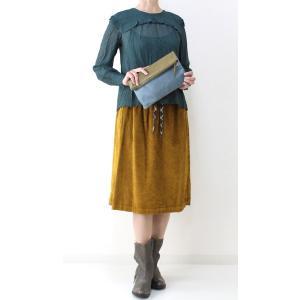 コテラック マスタードコーデュロイスカート|femme|06