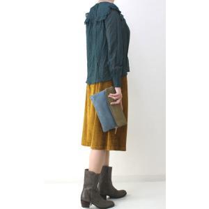 コテラック マスタードコーデュロイスカート|femme|08