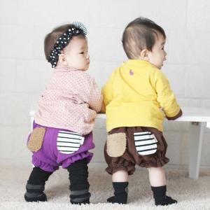 かぼちゃパンツ ベビー ブルマ おむつカバー 男の子 女の子 長くつかえる キッズファッション おしりのポケットがポイント!日本製【メール便不可】|femmebelly