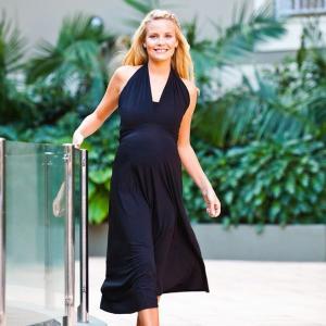 6way dress(6ウェイドレス)】送料無料!1着で6通りの着方ができるマタニティドレス 結婚式 2次会 フォーマル【メール便不可】|femmebelly