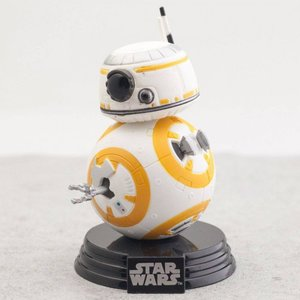 スターウォーズ Star Wars フィギュア pop star wars the last jedi bb-8 white/orange|fermart-hobby