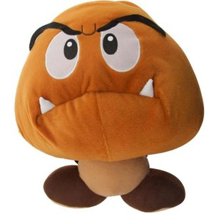 スーパーマリオ おもちゃグッズ Toys and Collectibles Super Mario Goomba Plush Backpack (brown)|fermart-hobby