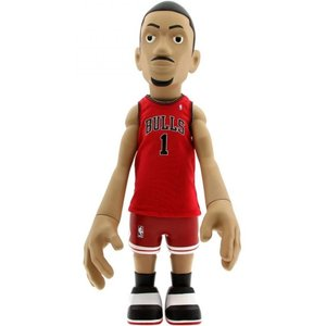 エヌ ビー エー おもちゃグッズ Toys and Collectibles MINDstyle x NBA Derrick Rose 18 Inch Figurine - Away Jersey|fermart-hobby