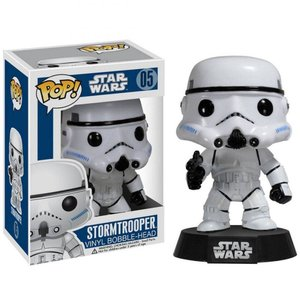ファンコ ファンコ Funko Funko POP Star Wars Series 1 Stormtrooper Vinyl Bobble Head|fermart-hobby