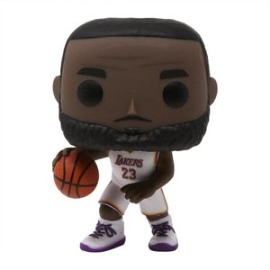 NBA フィギュア pop basketball nba la lakers lebron james white uniform white|fermart-hobby