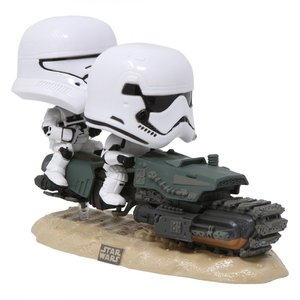 スターウォーズ Star Wars フィギュア pop movie moment star wars the rise of skywalker first order tread speeder white|fermart-hobby