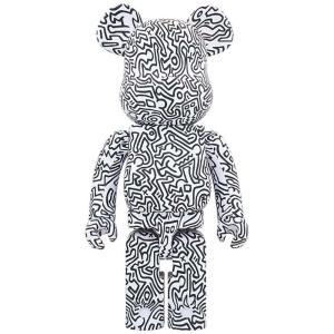 ベアブリック Bearbrick フィギュア keith haring #4 1000% bearbrick figure white fermart-hobby