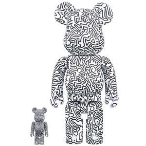 ベアブリック Bearbrick フィギュア keith haring #4 100% 400% bearbrick figure set white fermart-hobby
