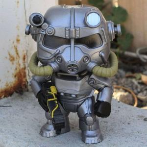 フォールアウト Fallout フィギュア pop games fallout - power armor gray fermart-hobby