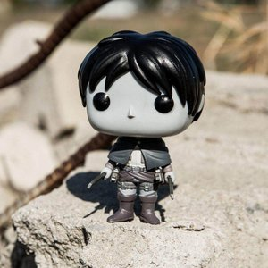 BAIT ファンコ Funko BAIT x Funko Exclusive Pop Animation Attack on Titan Figure - Eren Jaeger Monochrome Edition|fermart-hobby