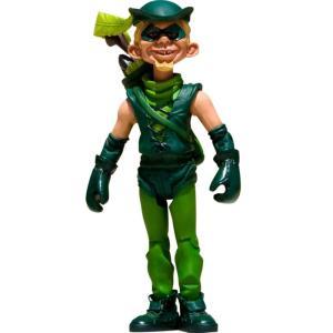 フィギュア おもちゃグッズ Toys and Collectibles Mad Magazine Green Arrow Just Us League Action Figure|fermart-hobby