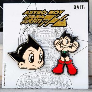 BAIT BAIT x Astro Boy Face Logo 2 Pins|fermart-hobby