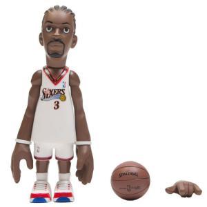 NBA フィギュア x coolrain nba legends philadelphia 76ers allen iverson figure white|fermart-hobby