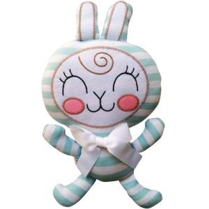アンナ チャンバース おもちゃグッズ Toys and Collectibles Anna Chambers Bunny White Bow Blue Stripe Plush fermart-hobby