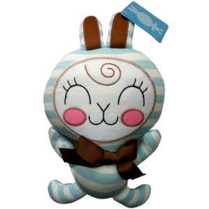 アンナ チャンバース おもちゃグッズ Toys and Collectibles Anna Chambers Bunny Brown Bow Blue Stripe Plush fermart-hobby
