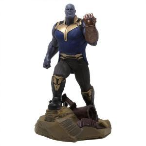 マーベル Marvel フィギュア diamond select toys marvel galler avengers 3 thanos pvc figure blue|fermart-hobby