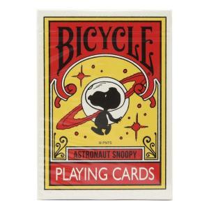 スヌーピー Snoopy ゲーム・パズル トランプ peanuts astronaut snoopy bicycle playing cards red fermart-hobby