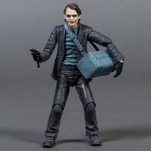 ジョーカー Medicom Batman The Dark Knight Joker PX Maf Ex Action Figure - Bank Robber Version|fermart-hobby