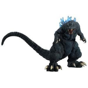 ゴジラ Godzilla フィギュア x-plus gigantic series godzilla 2001 gmk blue dorsal fin emission image version figure gray|fermart-hobby