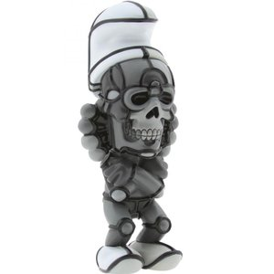 BAIT おもちゃグッズ Toys and Collectibles BAIT DesignerCon Exclusive David Flores Deathead Smurks Figure (greyscale)|fermart-hobby