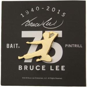 ブルース リー BAIT x Bruce Lee x Pintrill 75th Anniversary Fly Kick Pin|fermart-hobby