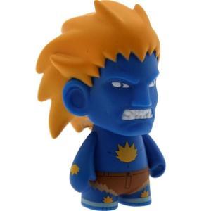 ストリートファイター Street Fighter フィギュア street fighter 3 inch mini series blanka figure - 1/20 ratio blue|fermart-hobby