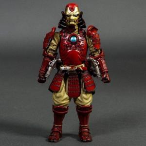 マーベル Marvel フィギュア meisho manga realization marvel comics samurai iron man mark 3 figure red|fermart-hobby