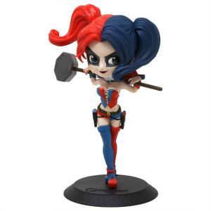 ディーシー コミックス DC Comics フィギュア q posket dc comics harley quinn figure - ver b red/blue|fermart-hobby