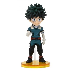 僕のヒーローアカデミア My Hero Academia フィギュア my hero academia world collectable figure vol. 1 - 01 izuku midoriya teal|fermart-hobby