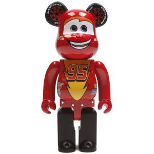 ディズニー Disney フィギュア disney pixar cars lightning mcqueen 400% bearbrick figure red|fermart-hobby