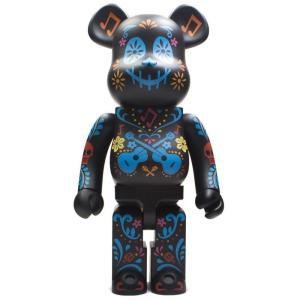 ディズニー Disney フィギュア disney pixar coco 1000% bearbrick figure black|fermart-hobby
