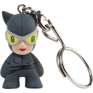 キッドロボット キッドロボット Kidrobot Kidrobot x DC Universe Catwoman 1.5 inches Keychain (black)|fermart-hobby