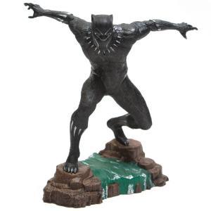 マーベル Marvel 彫像・スタチュー diamond select toys marvel gallery black panther movie pvc statue black|fermart-hobby