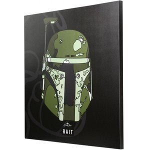 スターウォーズ おもちゃグッズ Toys and Collectibles BAIT x David Flores Star Wars 36 Inch Canvas - Boba Fett|fermart-hobby