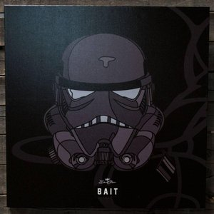 シャドウ ストームトルーパー BAIT x David Flores Star Wars 36 Inch Canvas - Shadow Storm Trooper|fermart-hobby