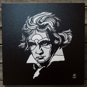 BAIT おもちゃグッズ Toys and Collectibles BAIT x David Flores 24 Inch Canvas - Beethoven|fermart-hobby