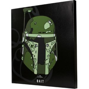 スターウォーズ おもちゃグッズ Toys and Collectibles BAIT x David Flores Star Wars 24 Inch Canvas - Boba Fett|fermart-hobby